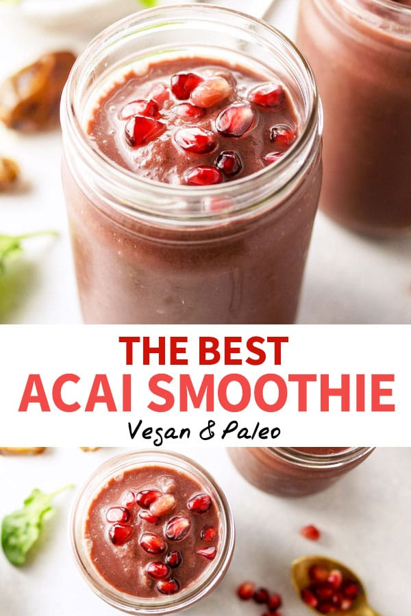 The Best Acai Smoothie Pin