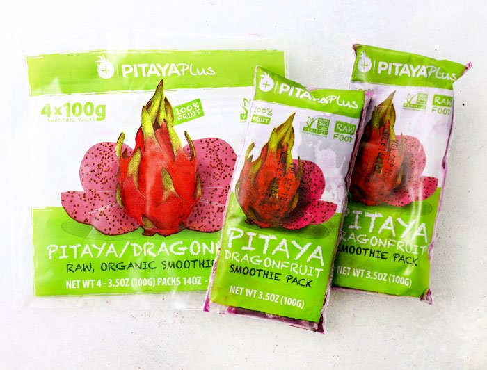 dragon fruit smoothie packets