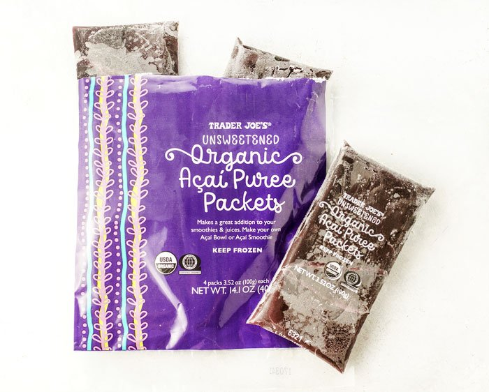 acai putee packets