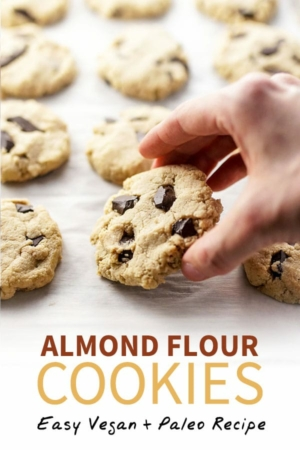 almond flour cookies pin