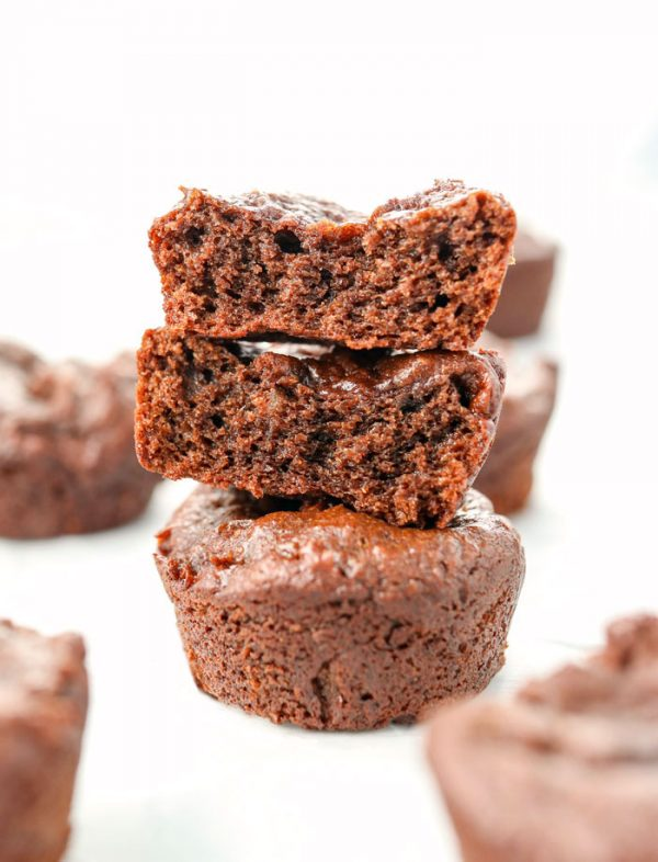 date brownies in stack