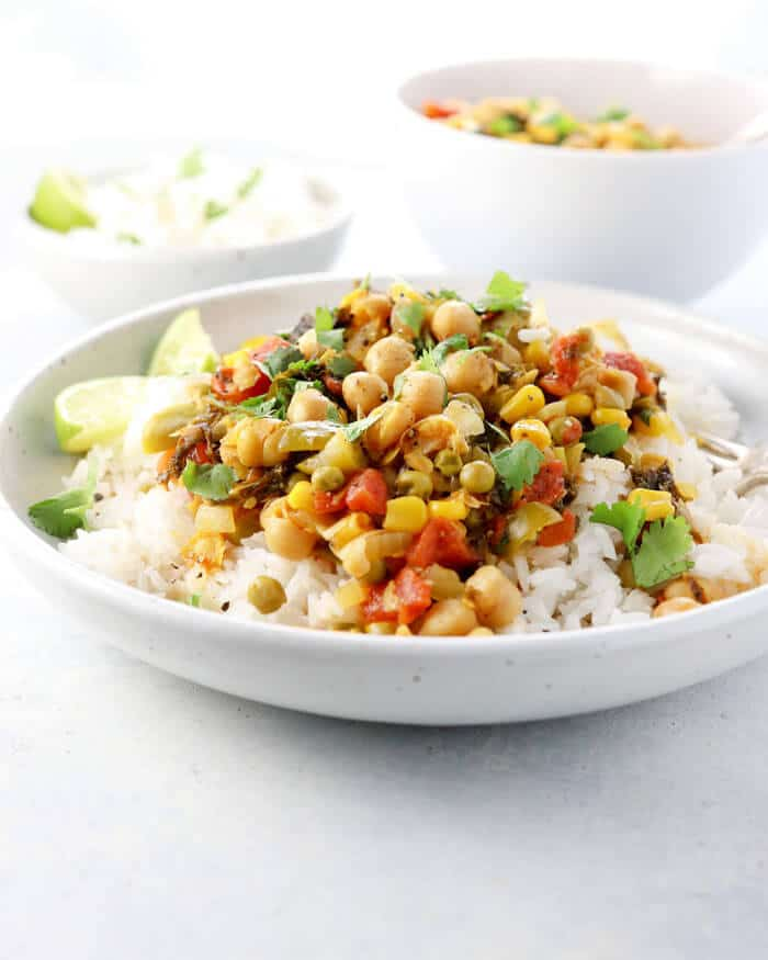 Vegan chickpea curry in the instant pot detoxinista recipe notes forumfinder Image collections