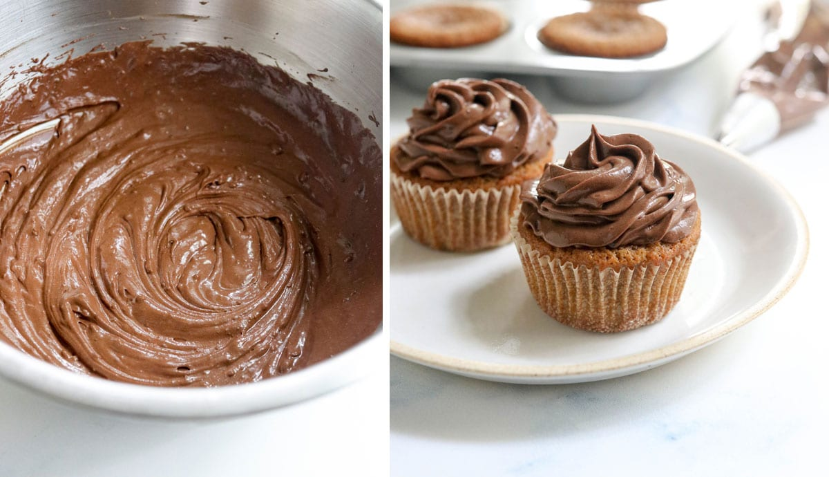 vegan chocolate mousse frosting
