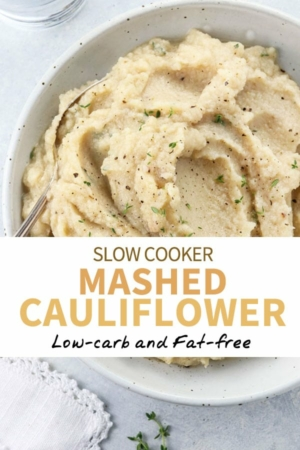 mashed cauliflower pin