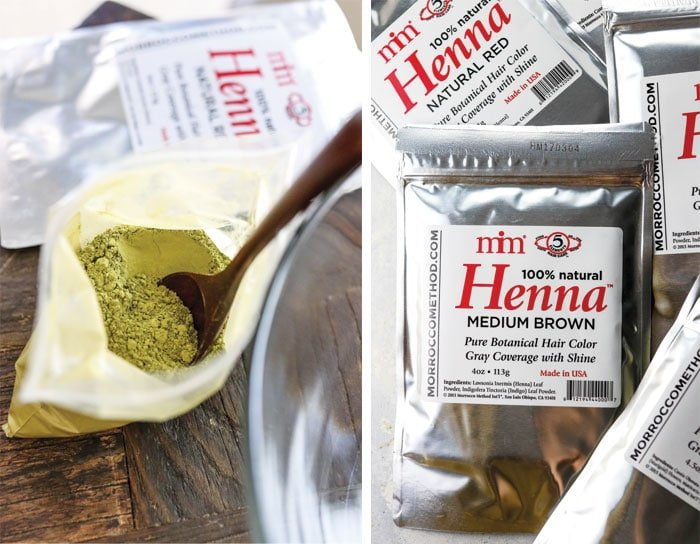 Henna Hair Dye For Covering Gray Hair Detoxinista