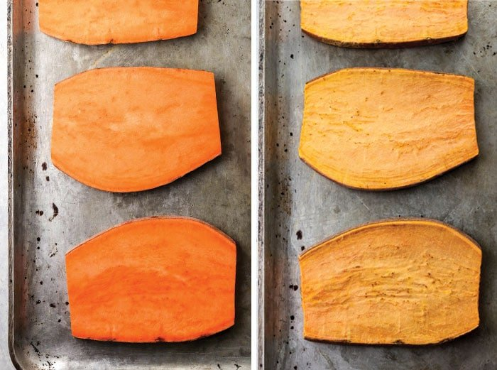 sweet potato toast oven roasted