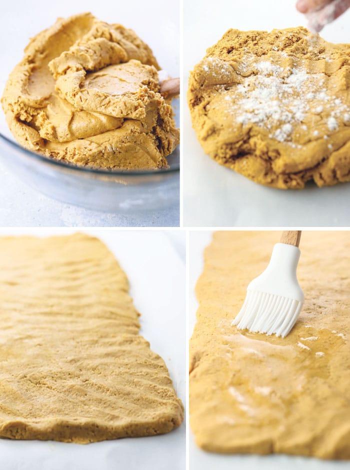 gluten free cinnamon roll dough