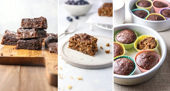 instant pot brownies cake and muffins
