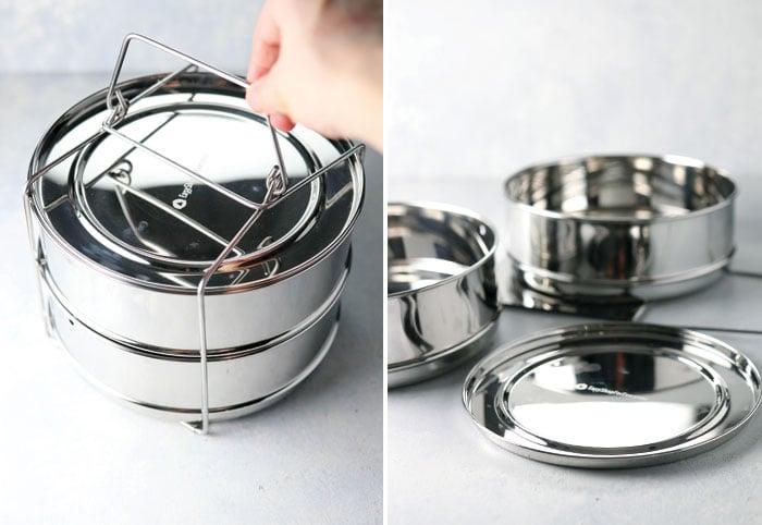 instant pot stackable insert