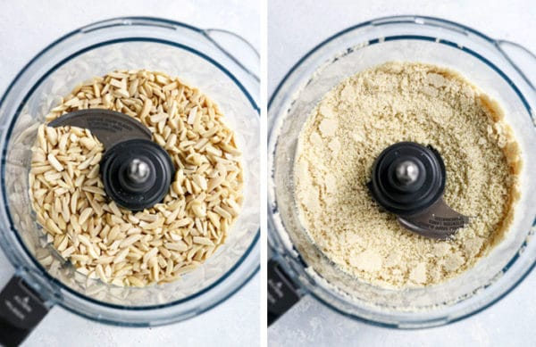 almond flour in food processor
