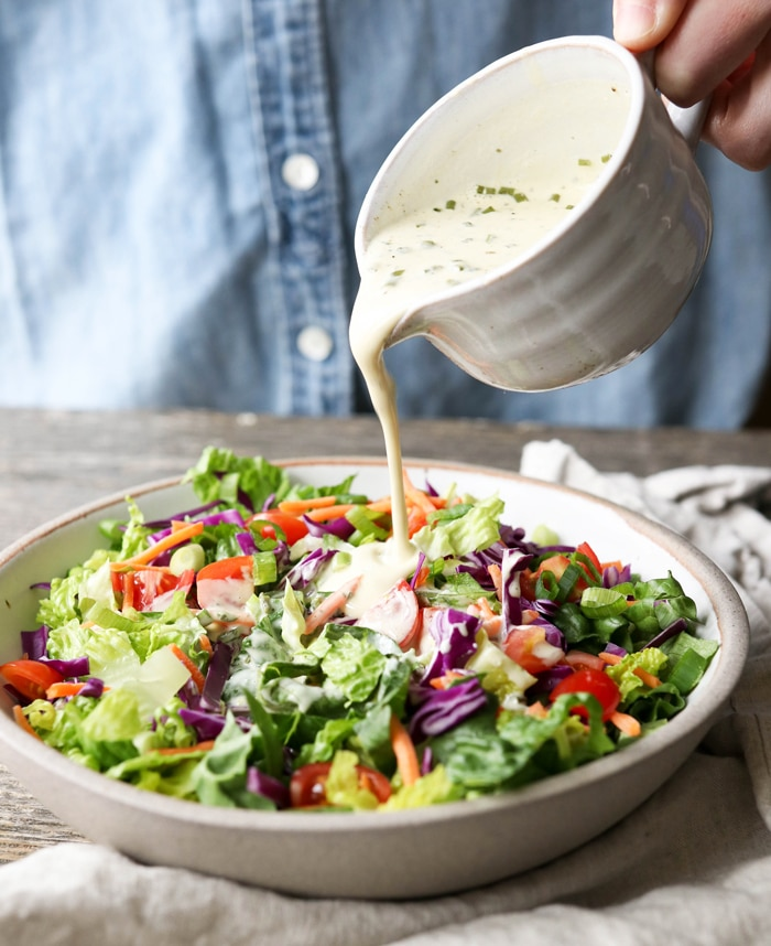 Vegan Ranch Dressing Soy Free Detoxinista