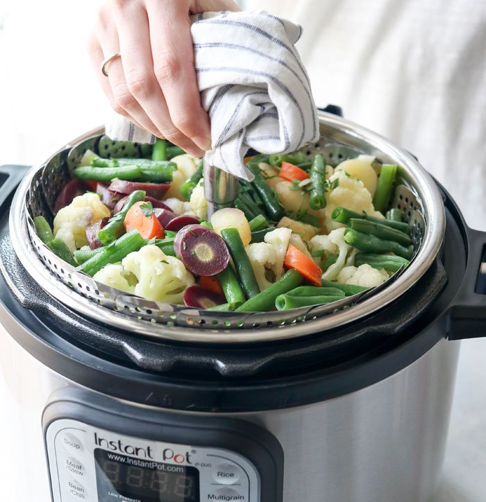 vegetables in instant pot