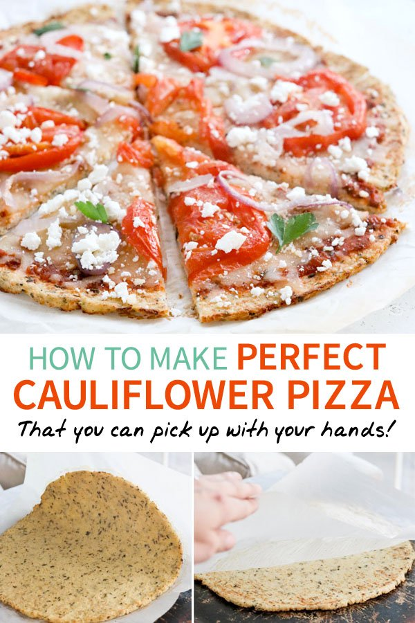 The Secret To Perfect Cauliflower Pizza Crust Detoxinista