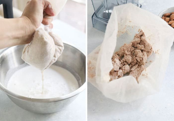 how to make almond pulp