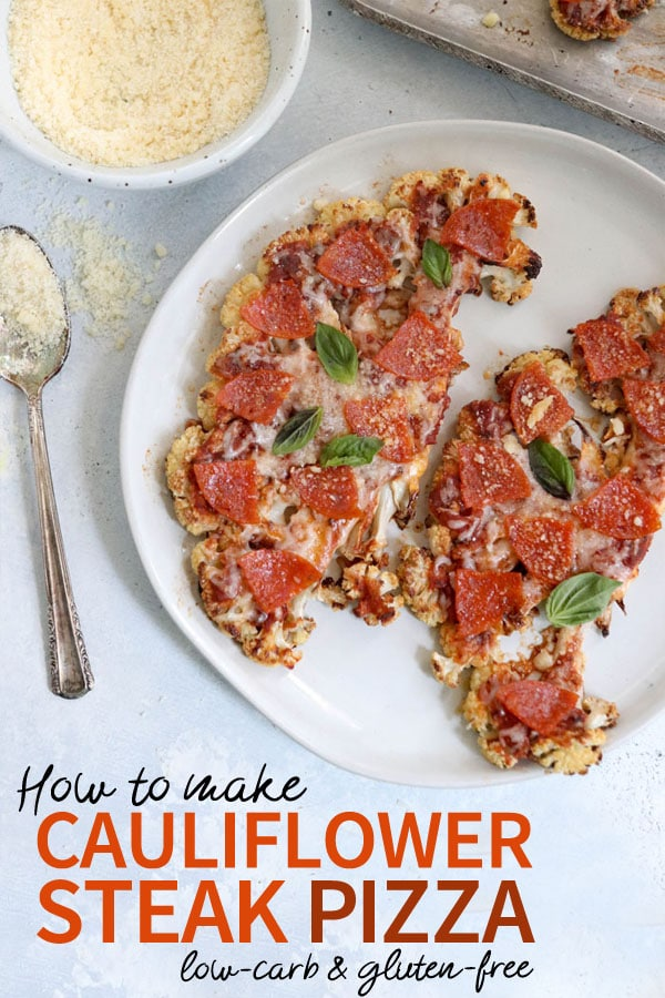 If you love cauliflower pizza crust, but don't love the labor that goes into it, this alternative is for you. Cauliflower