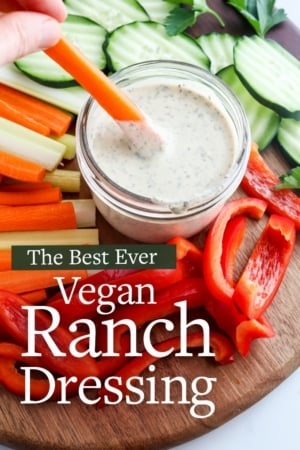 vegan ranch dressing pin
