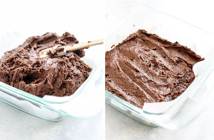 gluten free brownie batter