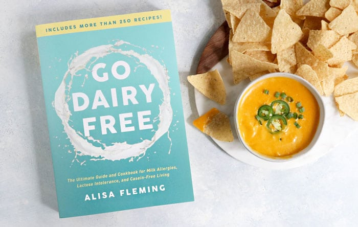 go dairy free book and cheese sauce