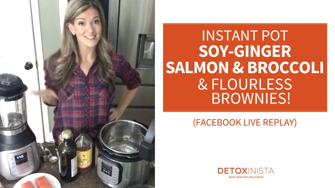 soy ginger salmon video