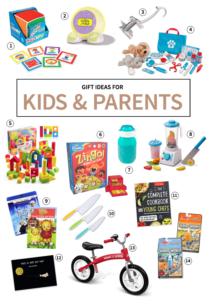 gifts for parents and kids