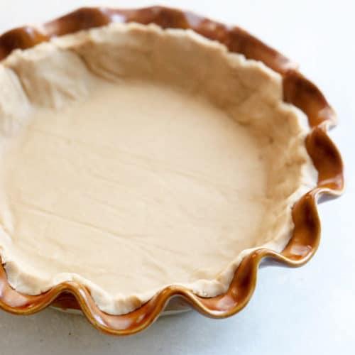 vegan pie crust gluten free