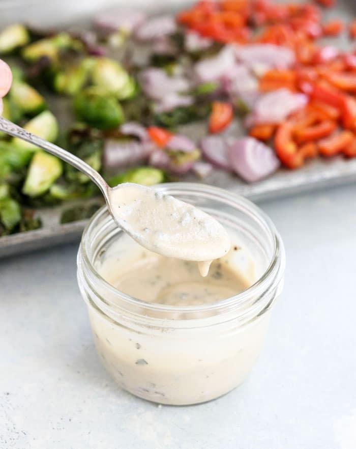 vegan pasta salad dressing
