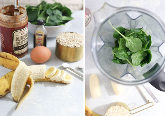 spinach muffin ingredients