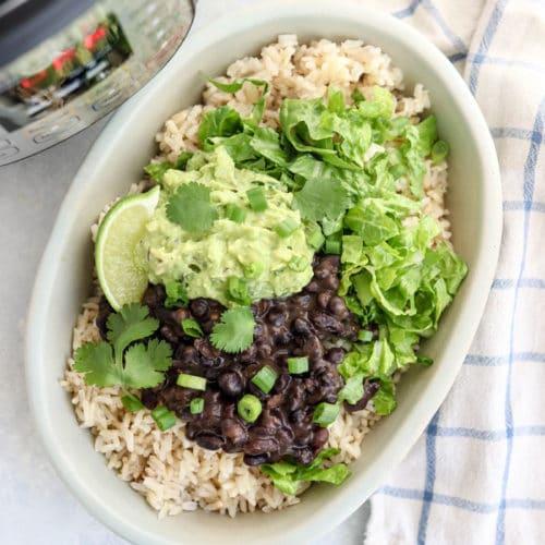 vegan chipotle burrito bowl