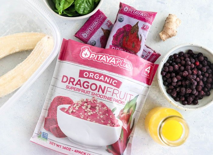 dragon fruit smoothie packs