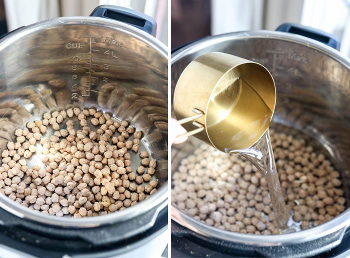 how to make chickpeas in instant pot