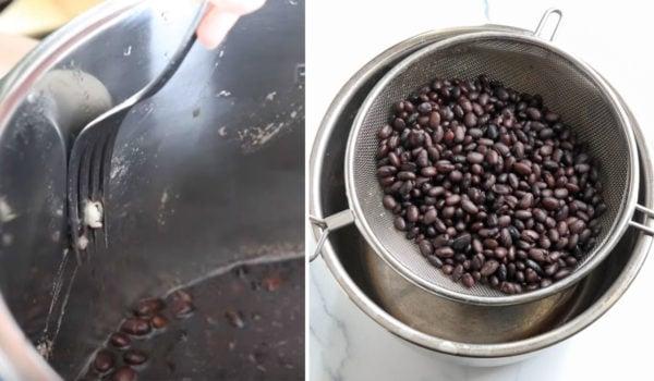 testing beans against instant pot