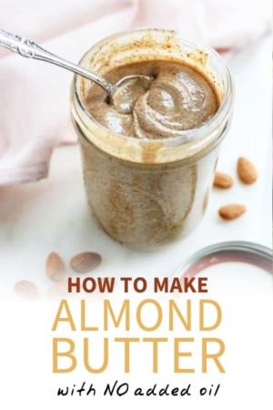almond butter pin