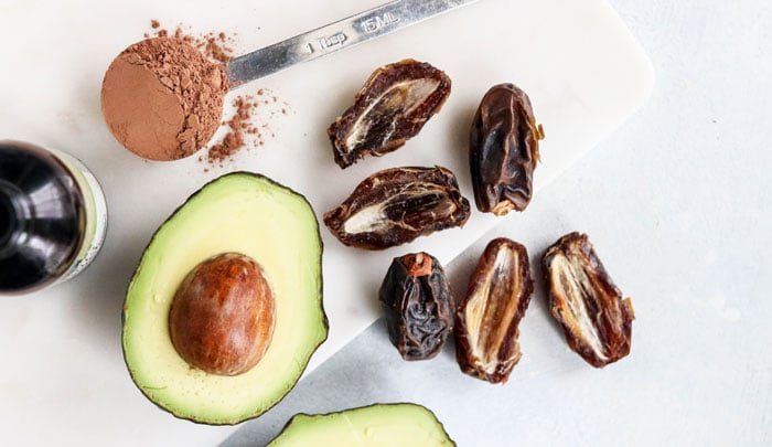 avocado and dates