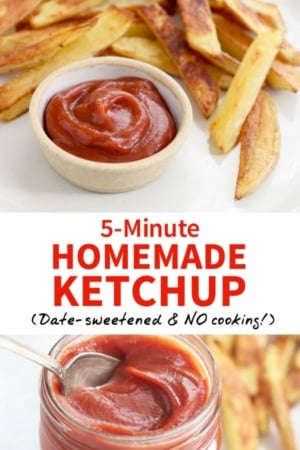 5 minute Homemade Ketchup