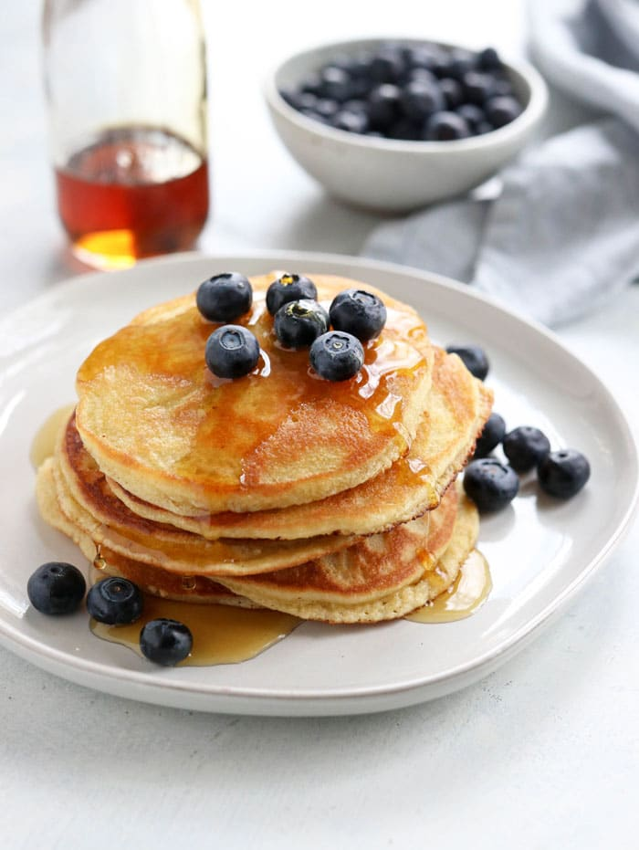 The Best Almond Flour Pancakes Detoxinista