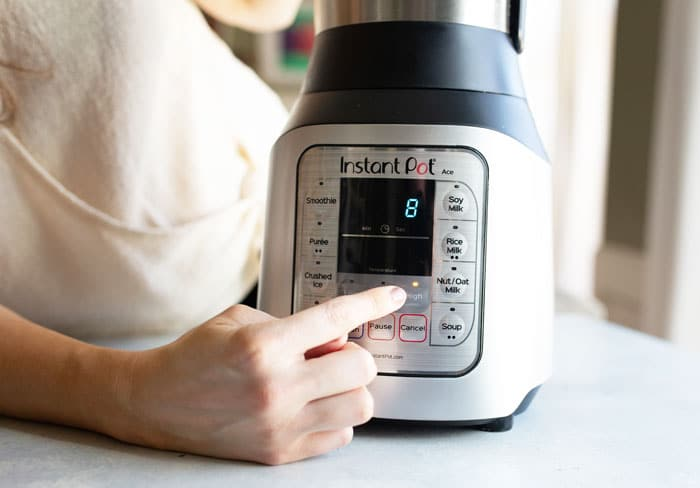 delay on instant pot blender