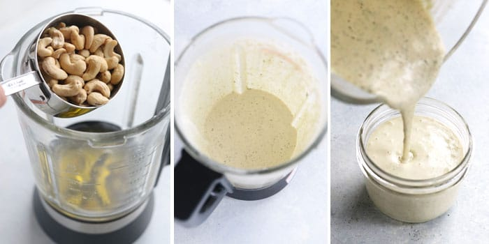 cashew ranch in instant pot blender