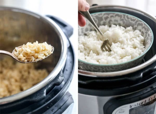 instant pot rice two ways