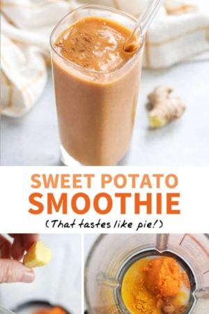 sweet potato smoothie pin