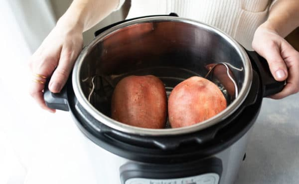 sweet potatoes in Instant Pot