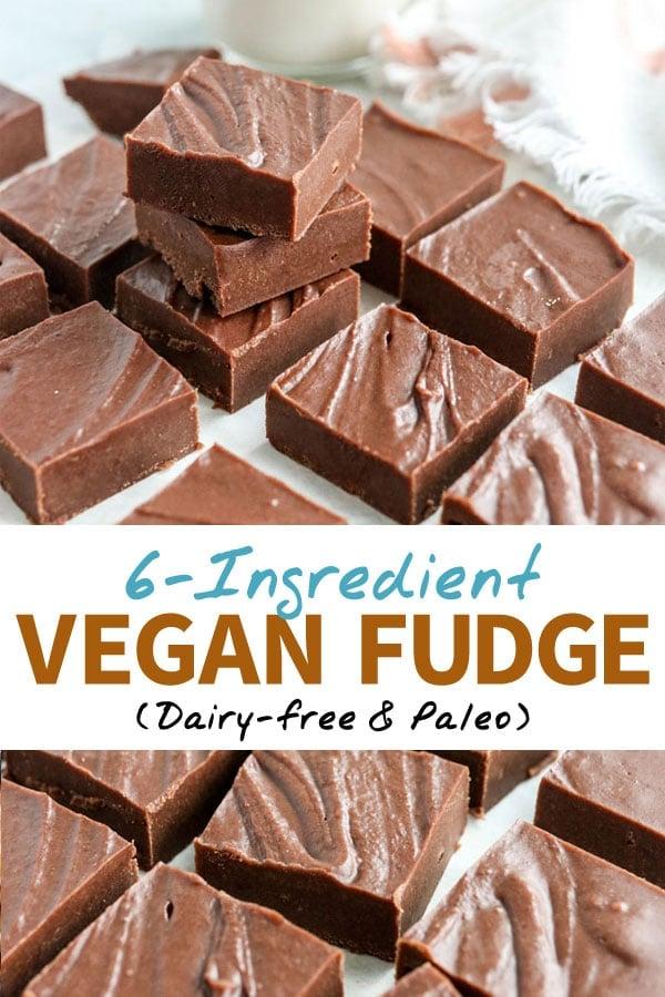 vegan fudge pin