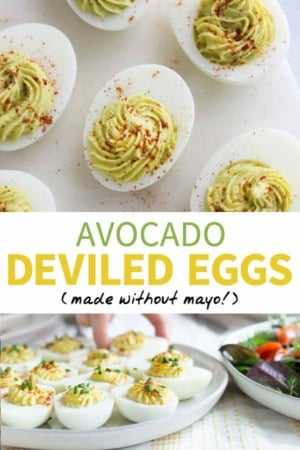 avocado deviled egg pin
