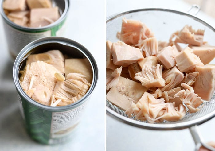 jackfruit in a can and pieces