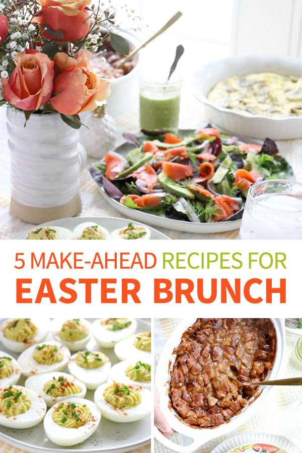 easter brunch pin