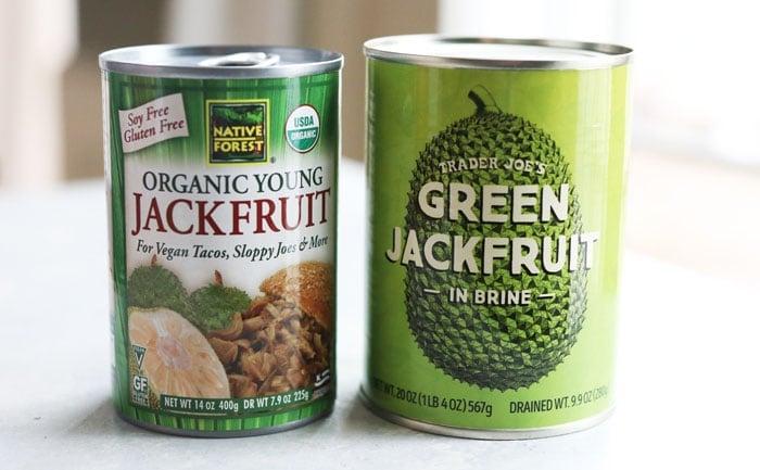 canned green jackfruit
