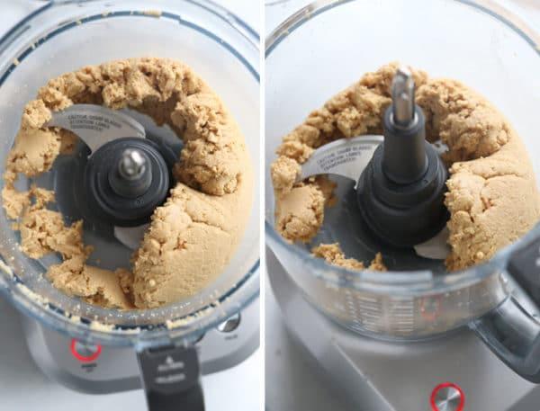 ground peanuts in food processor