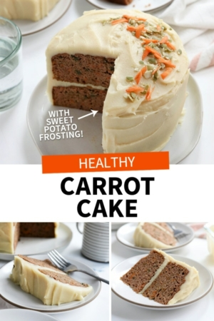 healthy carrot cake pin