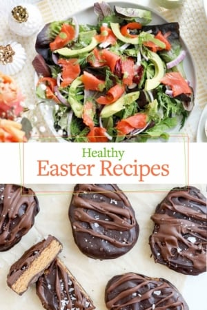 healthy easter recipes pin