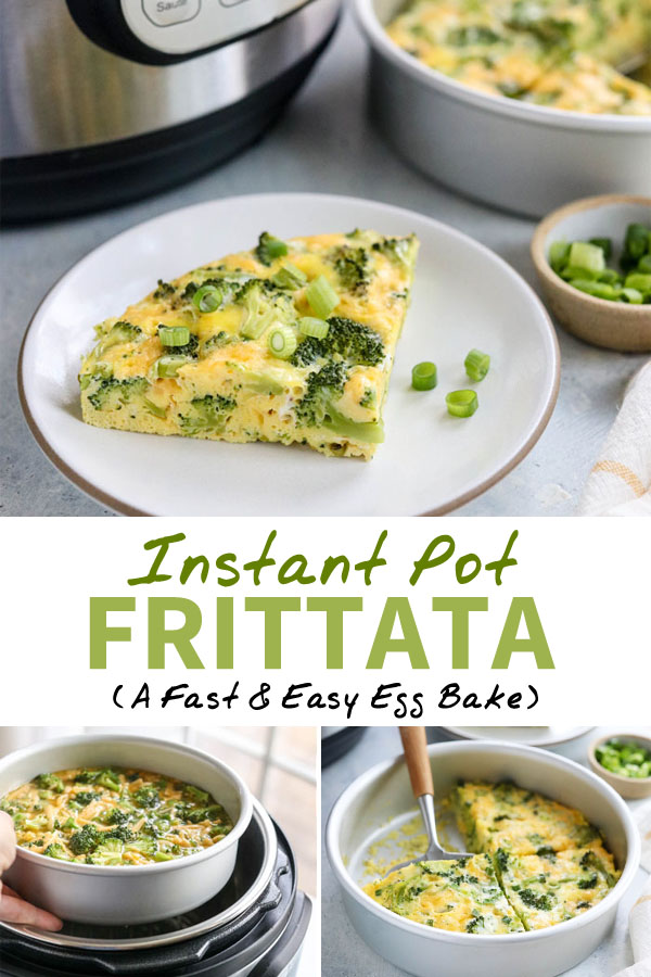 instant pot frittata pin