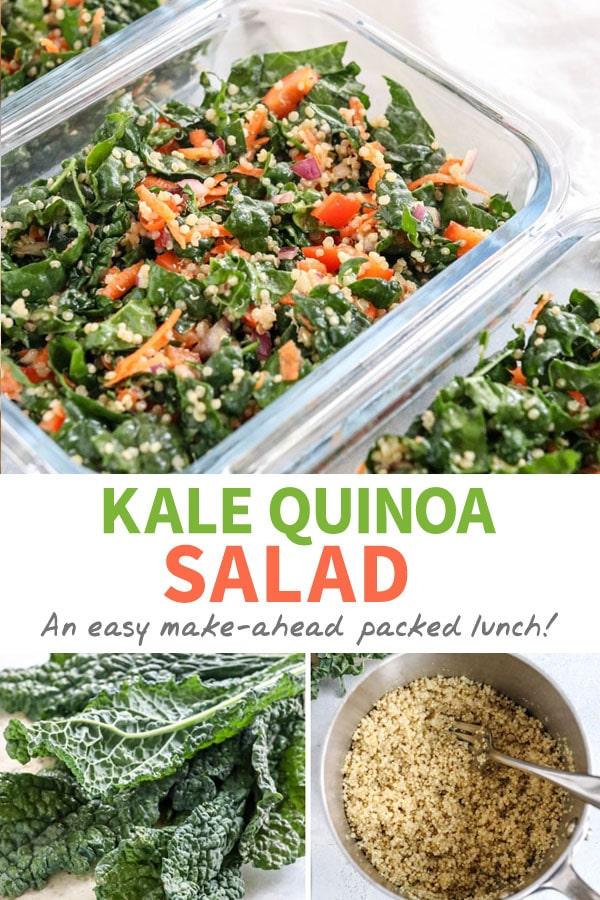 kale quinoa salad pin